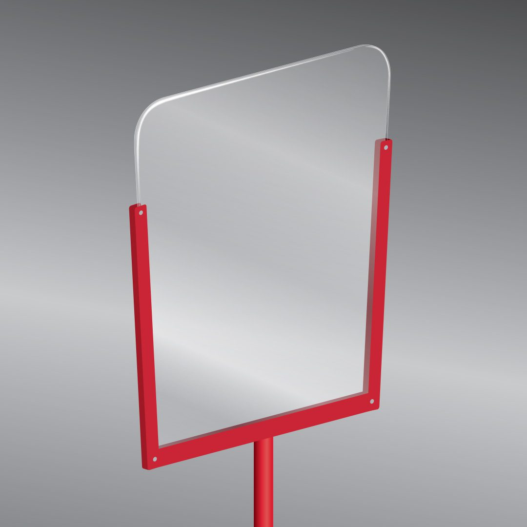 Retail Stanchion Sign Stand for Sale and retail free standing safety barriers