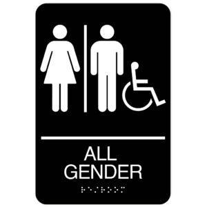 ADA All Gender Restroom Signs