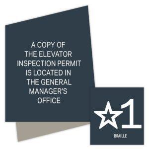 Elevator/Stair Signs