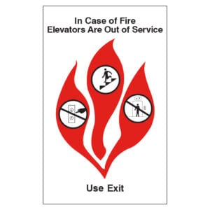 For Sale: ADA Exit Sign, ADA Handicapped Sign, and Hotel Fire Safety Door Signage