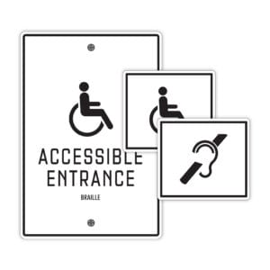 Accessibility Signs