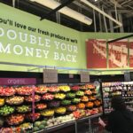 Retail Store Signage and POP kits for Hannaford produce from top premier sign company specializing in ADA guidelines.