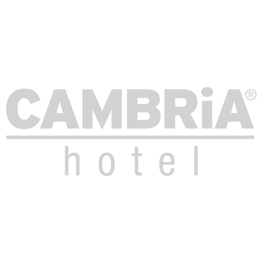 Cambria Hotel Sign Logo Decal on white background