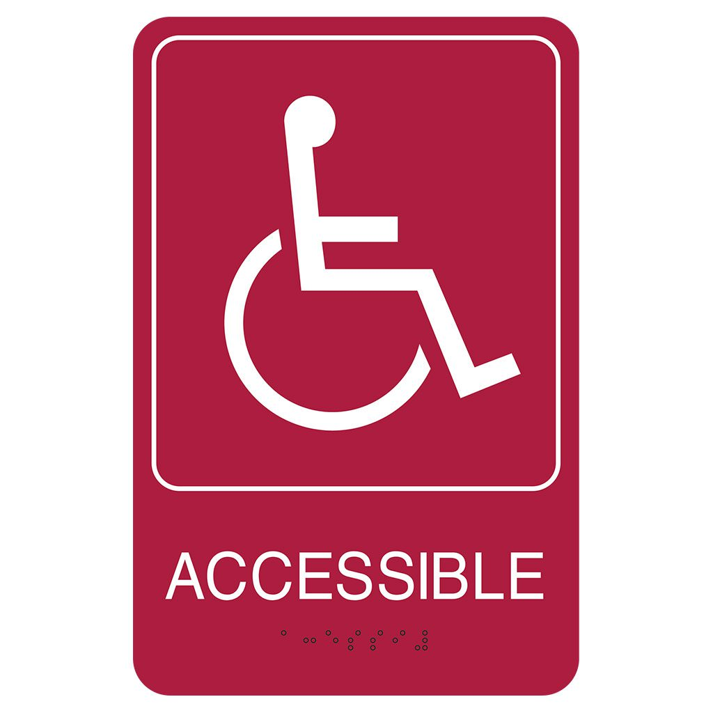 Compliant ADA Signs for Wheelchair Accessible Sign and Directional Signage by premier sign company knowledgeable in ADA guidelines