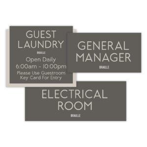 Room ID Signs