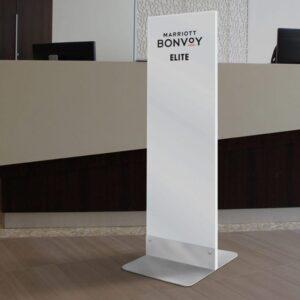 Pedestal Sign (Elite)