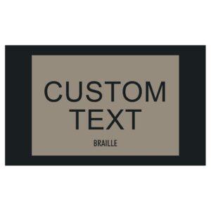 90381-2 Custom Interior signage, ADA Compliant Signs, Hotel Signs, Wayfinding signage