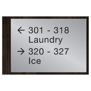 90555-4 Custom Interior Signage, Wayfinding Signage, ADA Compliant Signs, Hospitality Signs, Braille hotel room number signs, by IDG sign manufacturers near me