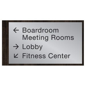 90557-4 Custom Interior Signage, Wayfinding Signage, ADA Compliant Signs, Hospitality Signs, Braille hotel room number signs, by IDG sign manufacturer near me