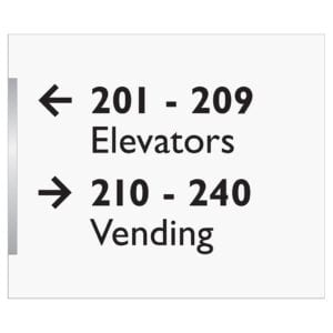Elevator and vending signage - Accessibility signs, ada signs, hospitality signs, and wayfinding signage