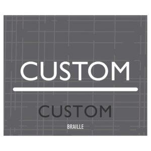 90667 Custom Interior signage, ADA Compliant Signs, Hotel Signs, Wayfinding signage
