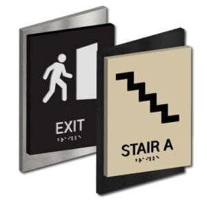 Exit ID Signs