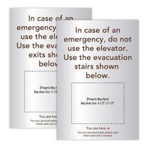 Evacuation Signs