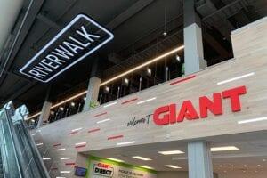 Custom Retail Design Signs for Giant Riverwalk