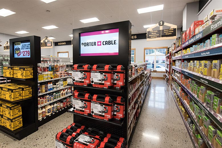 Custom Retail Display Signs & Retail POP Signage that meet all retail accessibility sign recommendations.